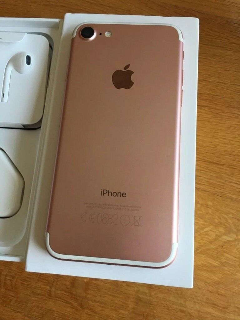 apple iphone 7 rose gold 32gb unlocked in immaculate condition in southampton. Black Bedroom Furniture Sets. Home Design Ideas