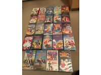 Total 24 VHS videos 21 of them are Disney