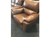 3/2/1 recliner leather suite