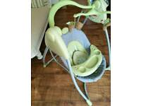 Graco Baby Swing Chair with 6 speeds and various music settings