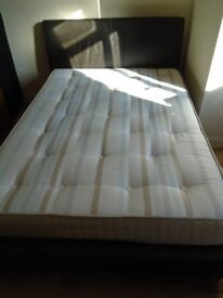 Double bed and mattress - will separate