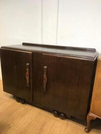 Vintage oak sideboard by lawrencia