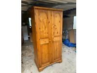 Lovely solid pine ducal wardrobe. Possible delivery