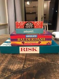 Boxed games v good condition