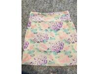 TopShop jersey mini skirt women's size 8