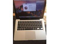 """Apple macbook pro a1278 13.3"""" 2011 Intel i5, 16gb RAM, 256gb SSD"""