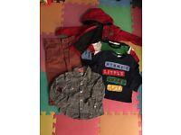 Baby boy clothes bundle 9-12 months