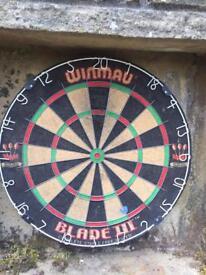 Unicorn dart board with surround case
