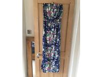 Next size 8 floral maxidress