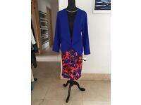 Waterfall Jacket & M&S Skirt