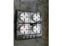 4 burner gas hob never used got everything with it