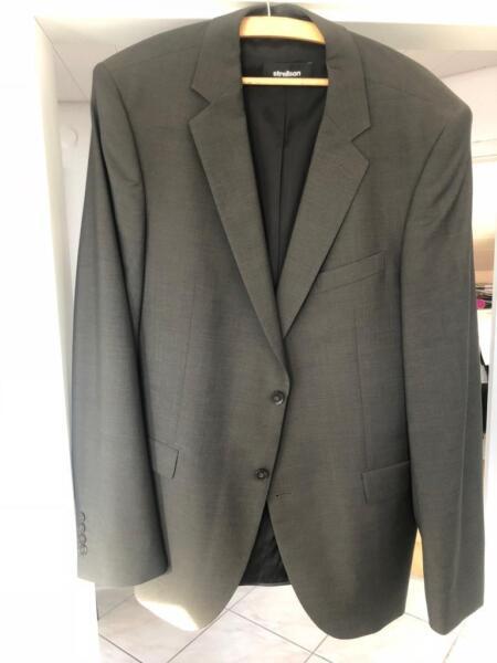 Strellson Premium Anzug Bailey Manhattan braun 102 wie NEU!