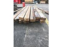 Reclaimed timber, wooden planks, 6x3, 11ft long