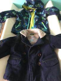 Two boys jacket 18-24 months
