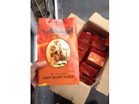 BIG BOX OF Quality Shisha wood Coal from DUBAI - NEED GONE - STORAGE CLEAR OUT - A GENUINE BARGAIN