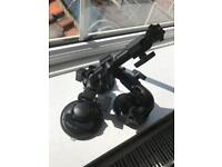 Delkin Fat Gecko Three-Arm Suction Mount