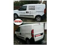 Van sign writing removal