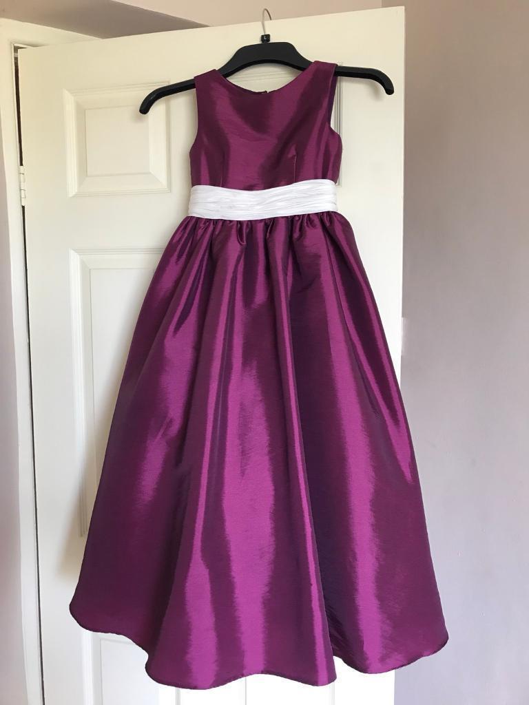 Girls bridesmaid dress | in Swansea | Gumtree