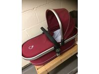 ICandy peach carrycot cranberry