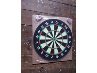 dart board - winmau dart board brand new with darts