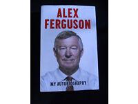 Alex Ferguson – My Autobiography, Hard Back Book.