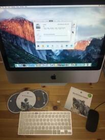 "20"" iMac 8gb ram 320gb HD"