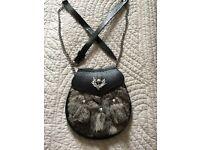 Rabbit fur sporran for sale