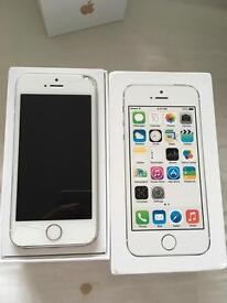 iPhone 5s White & Silver 16gb