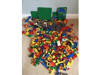 Duplo - large collection, including train set