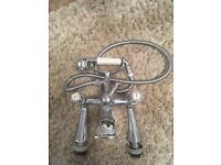 Mixer taps with shower head