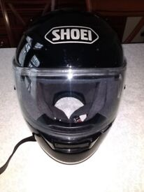 Shoei XR1100 Motorcycle helmet, large size, black, excellent condition
