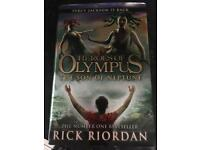Heroes of Olympus Percy Jackson book