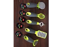 Brand new chunky handled kitchen utensils