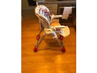 Chicco High Chair for sale £15