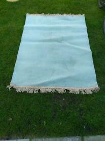 Ikea BRAKIG 100% wool blue-grey rug 130x170cm