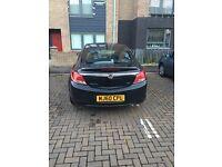 Black Vauxhall insignia sri