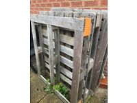 3 Heavy duty pallets