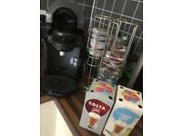 Tassimo Coffee Machine & Pod and holder