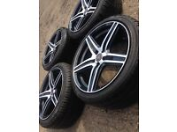 Wheels and tyres 18 inch