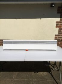 Low profile Dimplex Wall Heater