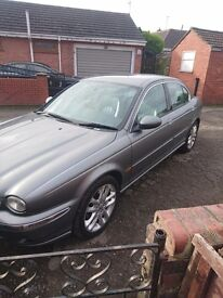 X type jag mint inside and out full leather interior in grey 10 months mot
