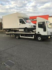 NORTH WEST LONDON CAR VAN RECOVERY TOWING SERVICE VEHICLE BREAKDOWN FORKLIFT DELIVERY ACCIDENT