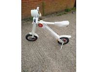 ONLY ONE IN UK e bike scoot e bike - snoop dogg foldable electric bike scooter segway