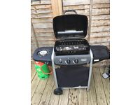 Gas BBQ w cover & near full gas tank, 3 months old, only been used a handful of times. £50 ONO