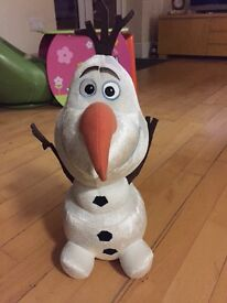 Tickle time Olaf toy