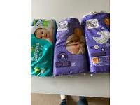 Free Nappies size 3 and size 1