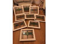 Original stained glass windows