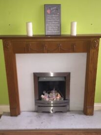 Fire Place, Hearth & Gas Fire