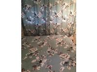 King Size Curtain and Duvet set