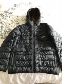 Barbour quilted jacket size L
